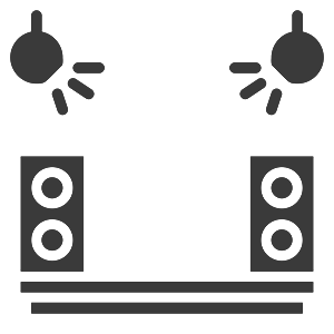 EM communications event staging icon